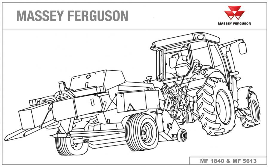 Tractor Coloring Pages - GetColoringPages.com | 560x900