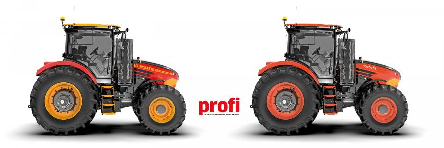 Will Kubota simply change the colour of the Nemesis as we have done here or come up with its own look?