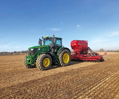 Conservation tillage in Bedfordshire
