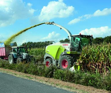 Claas_Jaguar_860_forage_harvester