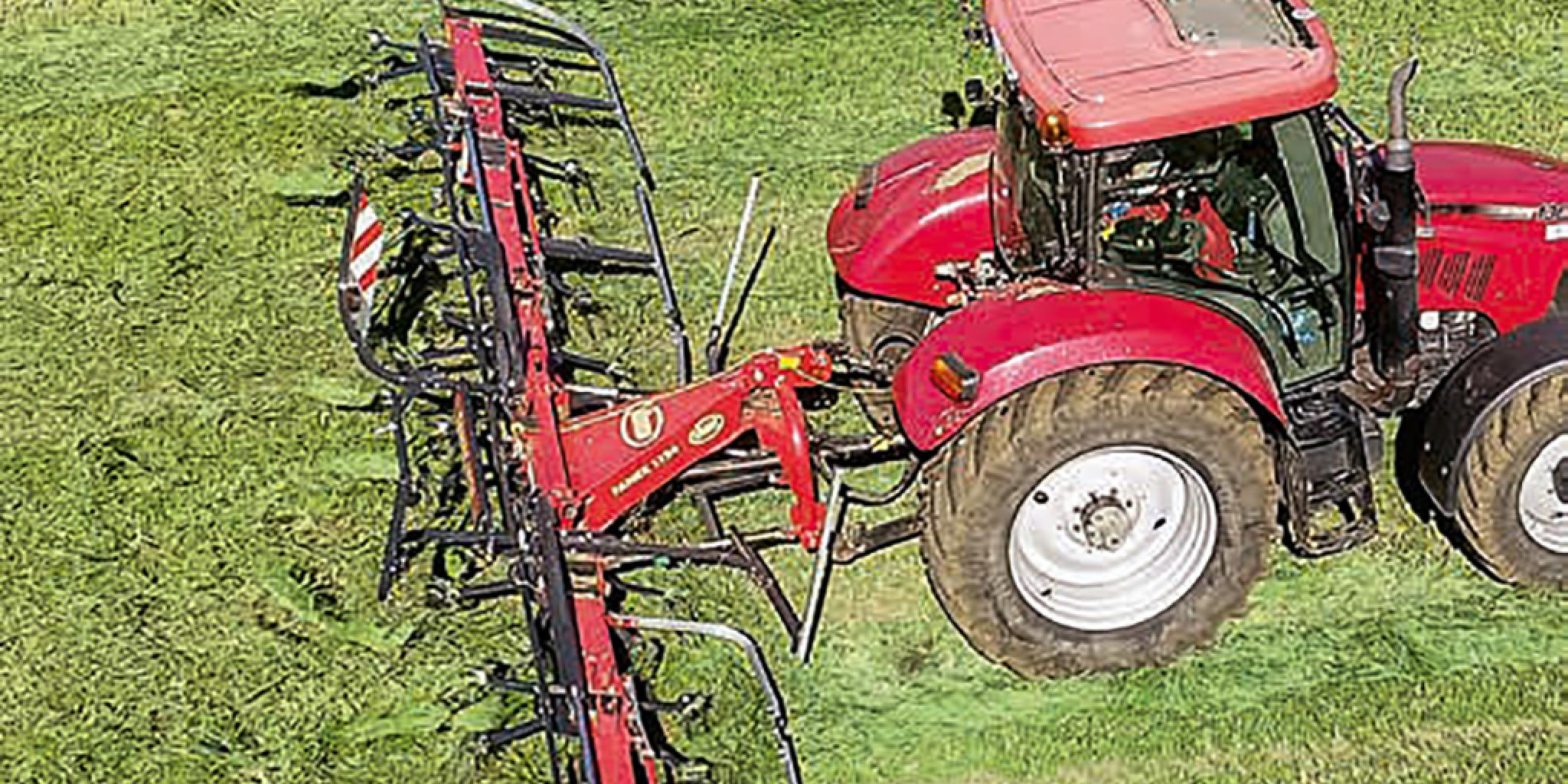Vicon Fanex 1124 and 1124C tedders: